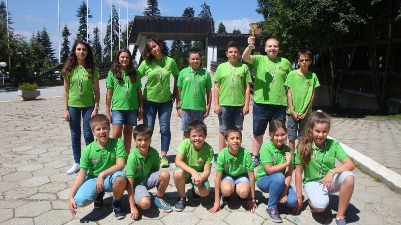 Титла и второ място за шахклуб Пловдив на държавното