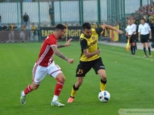 Ботев - ЦСКА 1:3, канарчетата с 10 човека