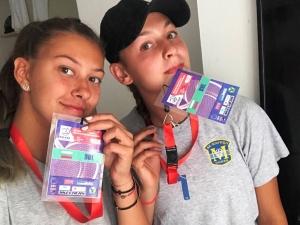 Лора и Никол от Марица с престижно седмо място на Балканиадата