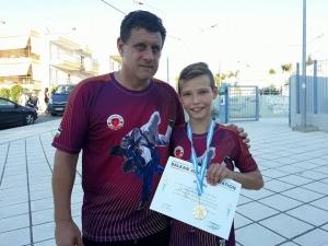 Браво! 13-годишният Стойчо със сребро от Балканиадата по джудо СНИМКИ