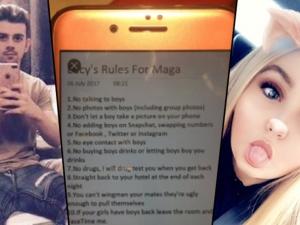 Млад мъж направи списък с налудничави забрани за приятелката си, всички се смеят СНИМКИ