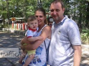 Иван и Таня – между залата и грижите за малкия Григор СНИМКИ