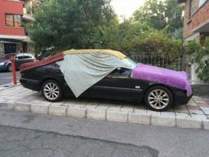 Хит в мрежата от родното Черноморие: Как да си предпазим колата от слънцето СНИМКИ