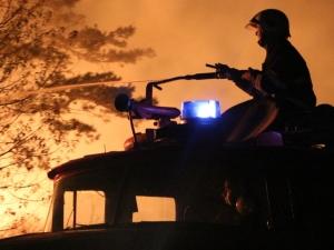 Извънредно положение заради огромните пожари в Македония, има жертва