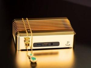 Глезотия за богати: Златен мини-компютър струва 1 милион долара СНИМКА