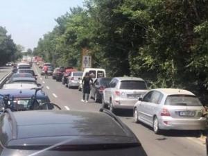 Верижна катастрофа затапи пътя Созопол – Бургас