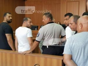Четиримата, хванати с прекурсори за хероин край Пловдив, застават пред съда СНИМКИ