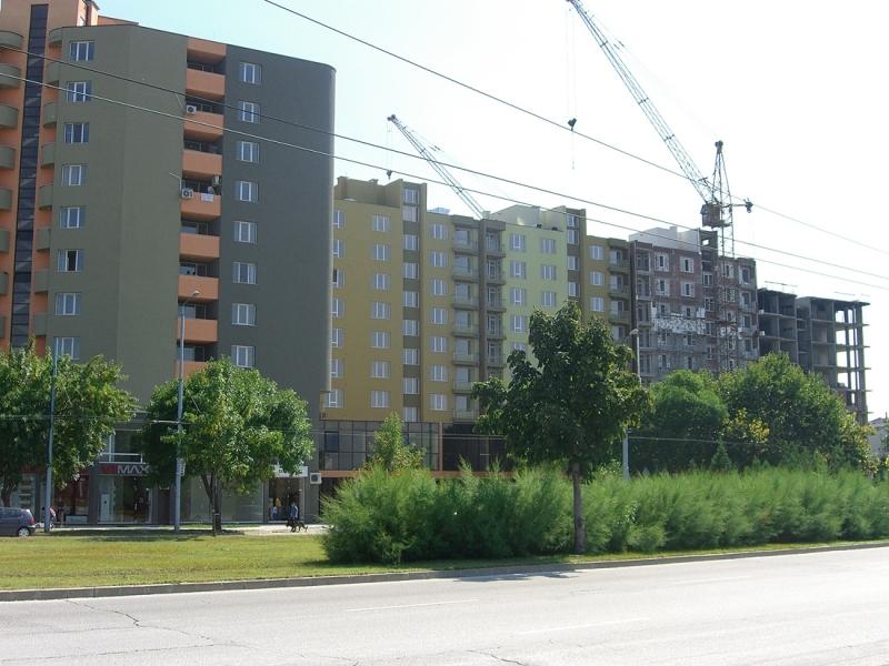 Пловдив отвя София по нови жилищни сгради, но е далеч от Варна и Бургас
