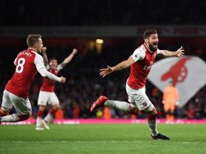 Лудо начало на Премиър Лийг: 7 гола на мача Арсенал - Лестър