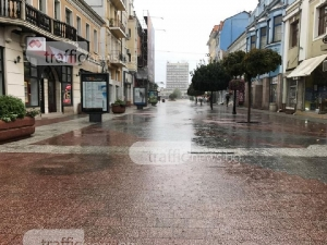 Дъжд се изсипа над Пловдив, Главната опустя СНИМКИ