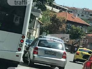 """Софиянец се заби в автобус на """"Гладстон"""""""