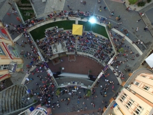 Десетки дронове политат в небето над Пловдив