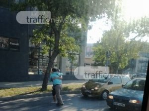 26-годишен мъж е блъснатият на Брезовско пешеходец, не е пострадал тежко