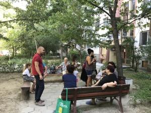 100 пейки раздават в ЖР Тракия за предблоковите пространства