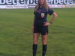 Пчела спряла пловдивска футболна съдийка за полуфинал на световно