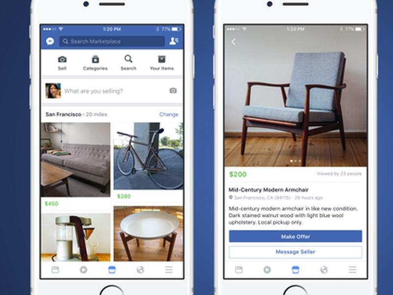 Фейсбук става сайт за покупко/продажба