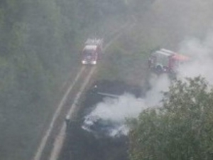 Млад шофьор полетя от мост, опитал да изпревари през аварийната лента