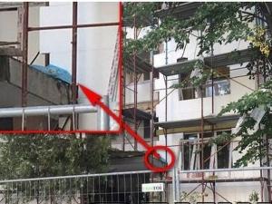 Млад мъж полетя от скеле на 8-мия етаж, загина намясто
