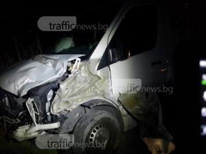 """Товарен мерцедес блъсна и уби пешеходка на автомагистрала """"Тракия"""""""