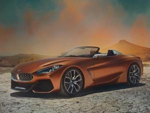 Концептуалното BMW Z4 заинтригува с екстравагантен вид СНИМКИ