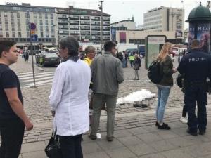 Няколко души са намушкани с ножове в град Турку