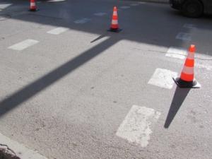Жена загина при верижен удар на пешеходна пътека