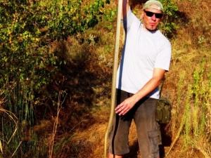 Заловиха змия рекордьор у нас, влечугото е с дължина 2 метра СНИМКА