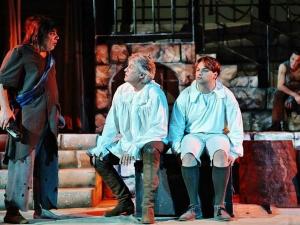 Орлин Горанов влиза в ролята на Дон Кихот тази вечер на Античния театър