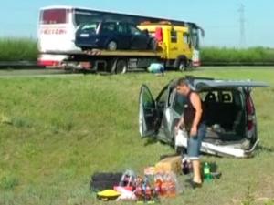 Тежка катастрофа с български автомобил в Унгария