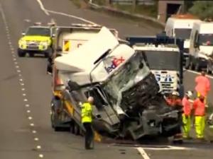 Осем души загинаха в тежка катастрофа във Великобритания