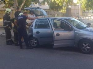 На косъм от трагедия! Газова бутилка в кола вдигна на крак полиция и пожарна СНИМКА