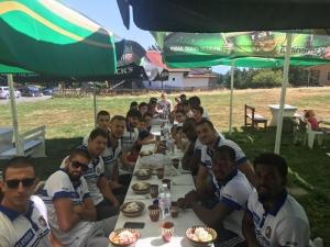 В Академик Бултекс 99 сплотиха колектива с футболен мач на Копривките СНИМКИ