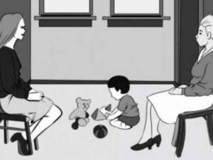 Загадка: Коя е истинската майка на детето? СНИМКА