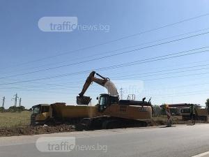 Пътят Пловдив – Асеновград гълта още 20 милиона, основната част ще е готова до месеци