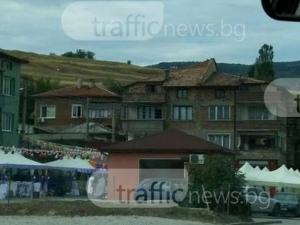Пет дни кючеци и маанета до новото полицейско за 30 бона в Асеновград СНИМКИ