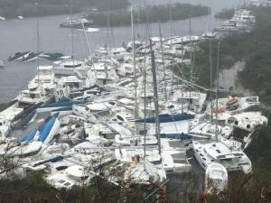 """Ураганът """"Ирма"""" опустоши два карибски острова, има жертви"""