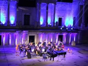 Талантливи българчета свириха  с Виенския камерен оркестър на Античния