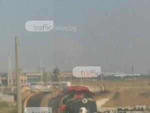 Пожарникари потушиха пожара край Шишманци