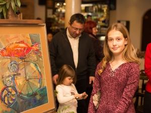 11-годишна пловдивска художничка и испански поет правят обща изложба
