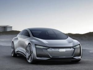 Audi налага революционен модел, показа кола без волан и педали СНИМКИ