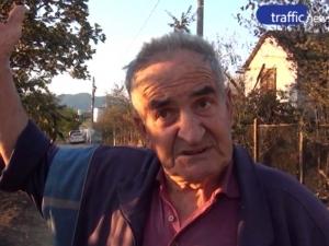 3-метрови пламъци погълнали къщите в Хисарско ВИДЕО