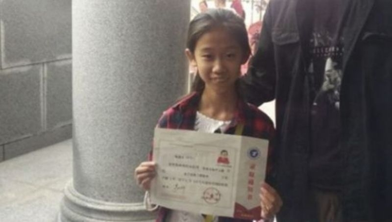 Тя е само на 10 годинки, но вече е студентка СНИМКИ