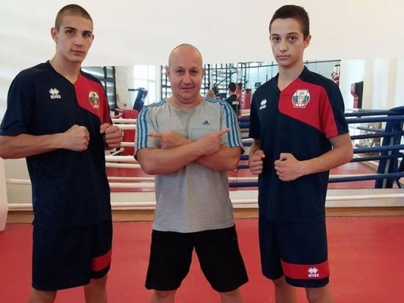 Двама боксьори на БК Първенец отиват на европейско първенство