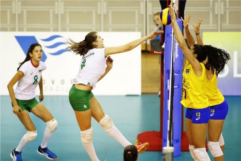 Пловдивска волейболистка най-добра за страхотна победа срещу Бразилия!