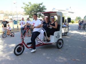 Пловдивчани се състезаваха с триколки на Гребната СНИМКИ