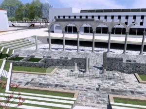 Най-после Пловдив ще има модерен централен площад, разкриват и Западните пропилеи ВИДЕО