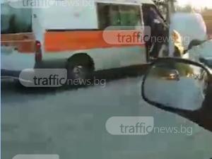 Линейки хвърчат на Околовръстното! Нови две катастрофи само за час край Пловдив ВИДЕО