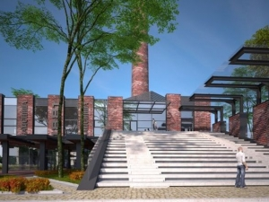 """Започнаха изграждането на крафт пивоварната на """"Каменица"""" върху бившия завод СНИМКИ"""