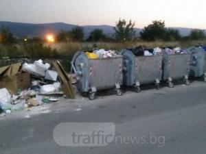 Около Оазиса в Кючука заприлича на Столипиново,  боклуци заляха района СНИМКИ