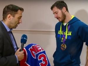 Вижте какво разплака най-добрия на европейското по баскетбол ВИДЕО